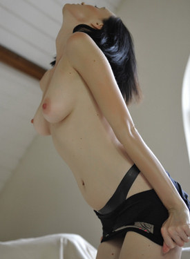 Exciting puffy nipples brunette