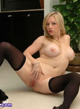 Hot secretary stockings